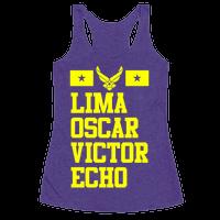 Lima Oscar Victor Echo (Air Force)