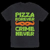 Pizza Forever Crime Never (Purple)