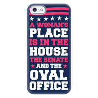 A Woman's Place Is In The House (Senate & Oval Office) Phonecase
