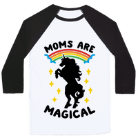 Moms Are Magical Baseball