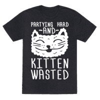 Partying Hard And Kitten Wasted