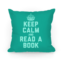 Keep Calm and Read A Book (Teal)