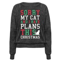 Sorry I Have Plans With My Cat This Christmas
