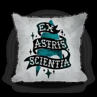Ex Astris Scientia Pillow