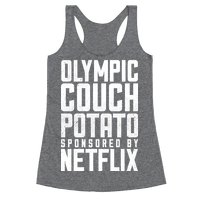 Olympic Couch Potato Racerback