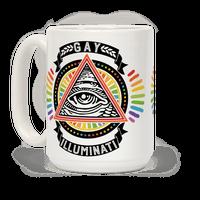 Gay Illuminati Mug