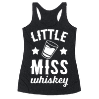 Little Miss Whiskey Racerback
