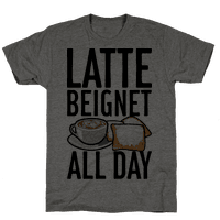 Latte Beignet All Day