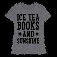 Ice Tea, Books and Sunshine