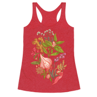 Chef's Botanical Herbs and Spices Racerback