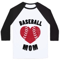 Baseball Mom (Baseball Tee)