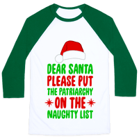 Please Put The Patriarchy On the Naughty List