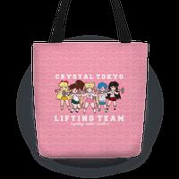 Crystal Tokyo Lifting Team