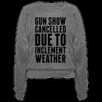 Gun Show Cancelled