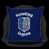 Scouting Legion Crest Pillow