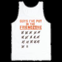 Guys I've Put in the Friend Zone
