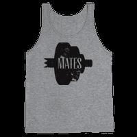Swole Mates distressed (Mate Half)
