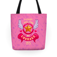 Cardcaptor Sakura: I Will Find My Courage Tote