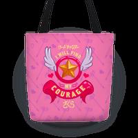 Cardcaptor Sakura: I Will Find My Courage Tote