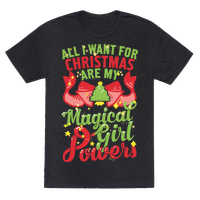 All I Want For Christmas Are My Magical Girl Powers