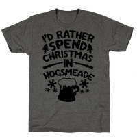 I'd Rather Spend Christmas At Hogsmeade