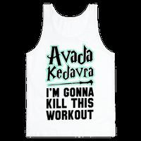 Avada Kedavra Fitness (Black)