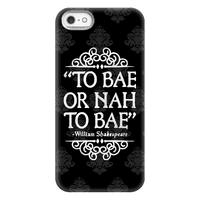 To Bae or Nah to Bae (Shakespeare Parody)