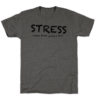 Stress Comes from Giving a Fuck