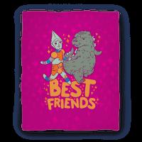 Best Friends Jet Jaguar & Godzilla