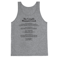 The Crossfit Woman's Creed (Tank)