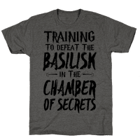 Training to Defeat the Basilisk in the Chamber of Secrets Tee