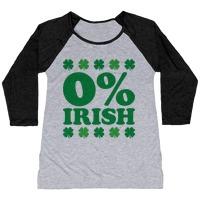 171b3f36 Zero Percent Irish T-Shirt   LookHUMAN