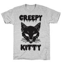 Creepy Kitty Tee