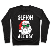 Sleigh All Day Santa (White)