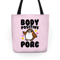 Body Positive Porg Parody