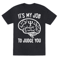 Its My Job To Judge You
