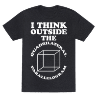 I Think Outside the Quadrilateral Parallelogram