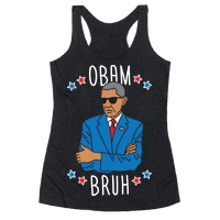ObamBRUH Racerback
