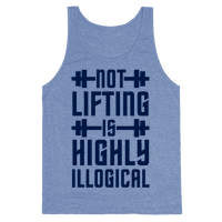 Not Lifting Is Highly Illogical