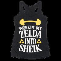 Workin' My Zelda Into Sheik Racerback