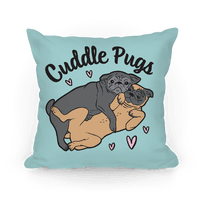 Cuddle Pugs Pillow