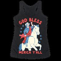 God Bless Merica Y'all: Cowboy Jesus