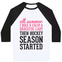 ...Then Hockey Season Started