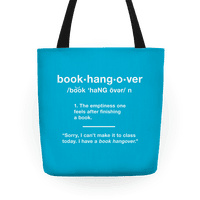 Book Hangover Definition