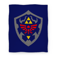 Hylian Shield Blanket