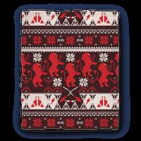 Hogwarts Ugly Christmas Sweater Pattern: Gryffindor Blanket