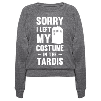 Sorry I Left My Costume In The Tardis