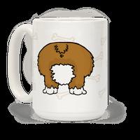 Corgi Butt Mug