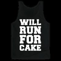 Will Run For Cake