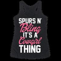 Spurs N' Bling